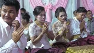 Khmer wedding events, Cambodia wedding ceremony, Compilation, Bride Tun Sokry, Groom Un Bunthoeun