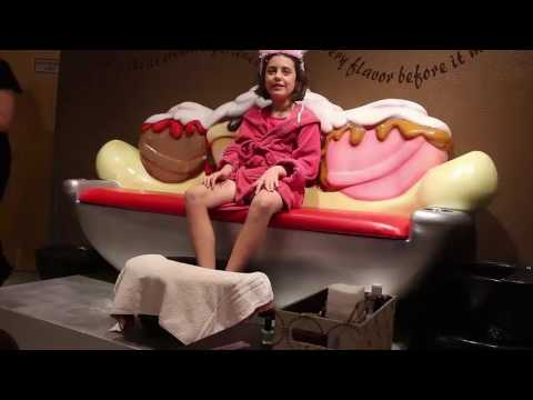 Ava's Scoops Spa Princess Package at Great Wolf Lodge Grapevine