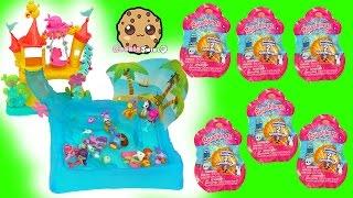 Splashlings Surprise Blind Bags & Mermaids Swim In Water with My Little Pony - Toy Video