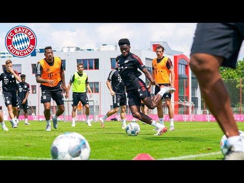 Intensives Trainingsspiel des FC Bayern vor dem Saisonfinale beim VfL Wolfsburg