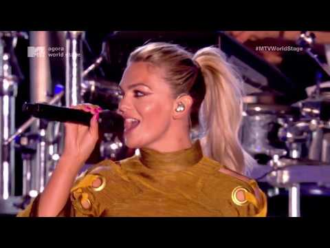 "Clean Bandit ""Tears"" (feat. Louisa Johnson) LIVE at MTV Crashes Plymouth 2017"