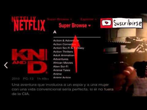 Desbloquea Categorías Ocultas En Netflix mexico 2016