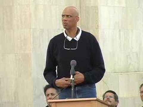 Kareem Abdul-Jabbar speaks about Coach John Wooden