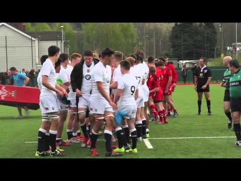 Marcus' 1st England Rugby Match Vs Wales Final (04.2015)