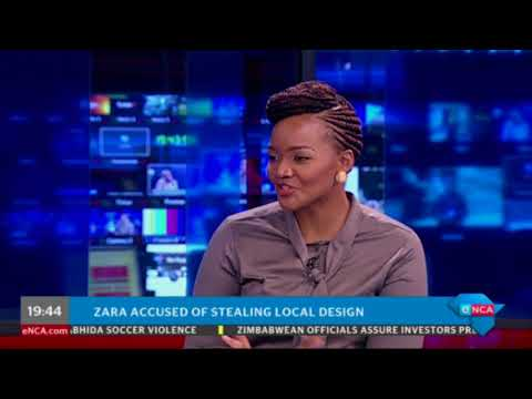 Zara accused of stealing local design