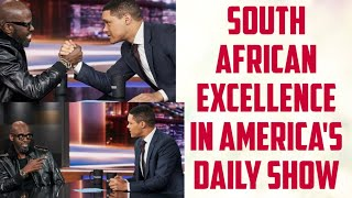 South African Excellence in America's Daily Show