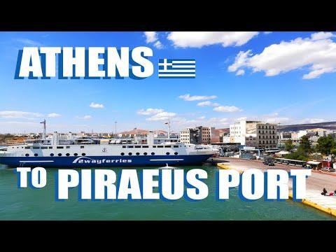 Athens to Piraeus Port   X96 Bus And Metro Options Explained