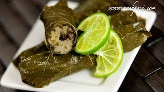 Veggie Grape Leaf Wrap (veggie Dolmeh) Recipe