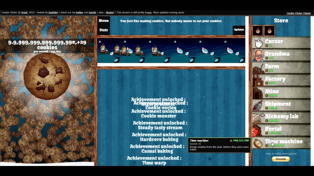 Image result for cookie clicker cheats
