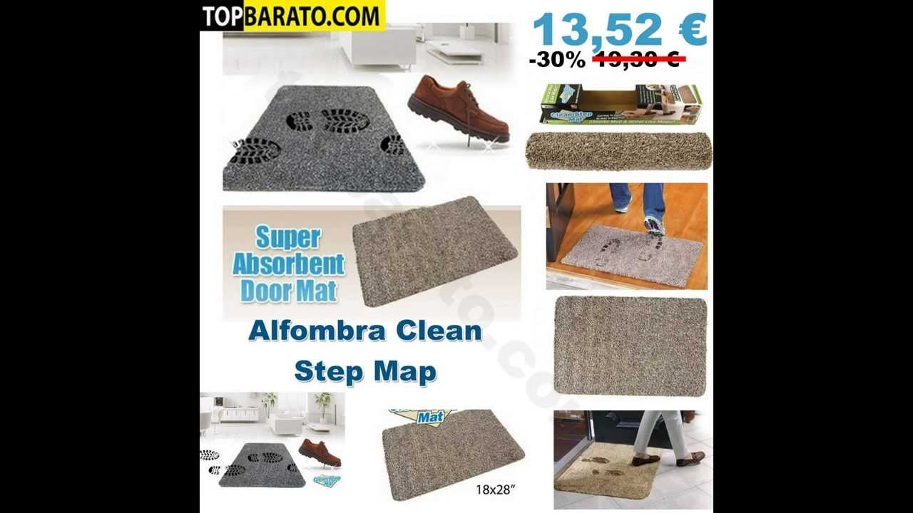 Alfombra Felpudo Clean Step Mat En Youtube