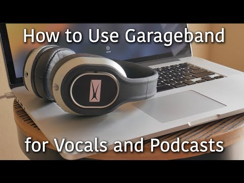 How to Record Vocals and Podcasts on Garageband   Easy USB Mic Setup