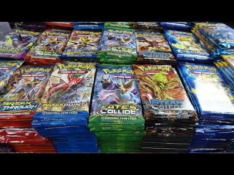 Opening Pokemon Cards - 1,000 Pokemon Booster Packs