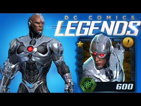 DC Comics Legends - CYBORG Review