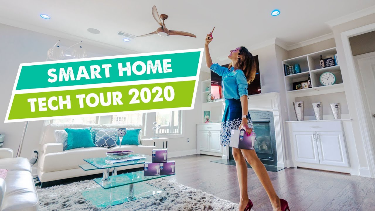 11 ULTIMATE SMART HOME TECH TOUR 10 Home Automation Ideas for 10