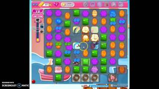 Candy Crush Level 1544 w/audio tips, hints, tricks