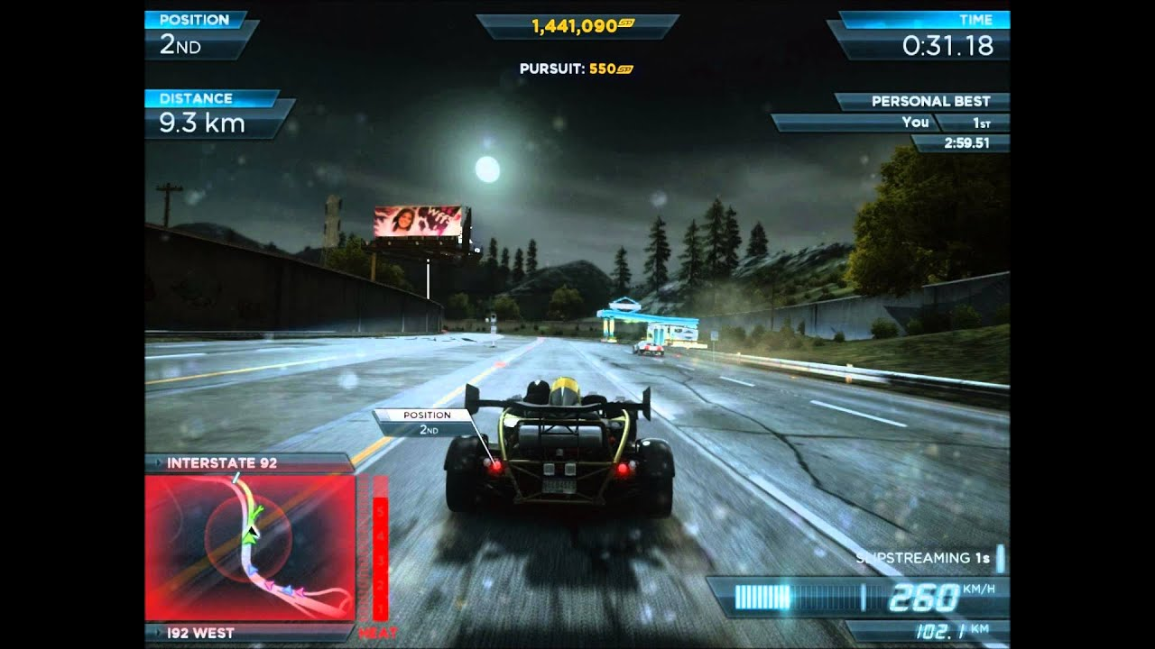 need for speed most wanted ariel atom 500 v8 vs bugatti veyron 16 4 super spo. Black Bedroom Furniture Sets. Home Design Ideas