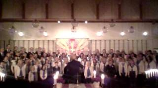 O Sanctissima performed by the St. Laurentius choir from Norway
