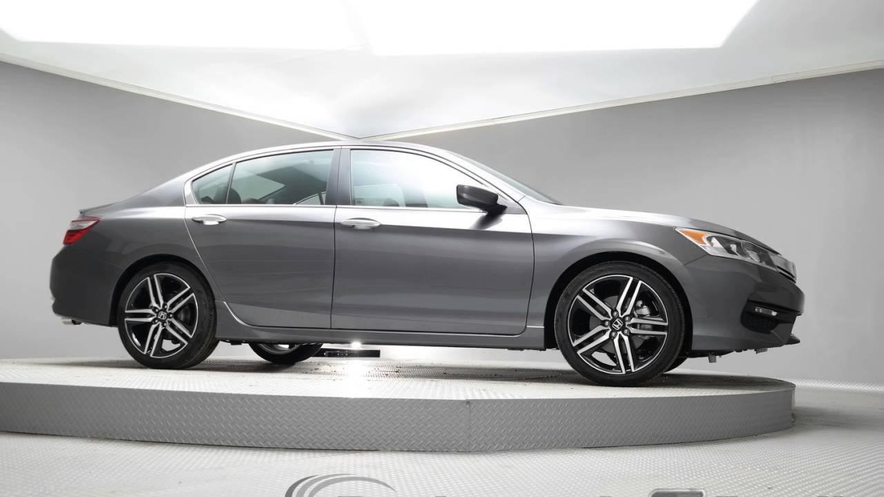 2017 modern steel metallic honda accord sedan hoo7 youtube for 2017 honda accord sedan sport