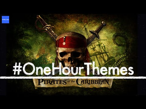One hour of the 'Pirates of the Caribbean' theme