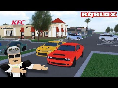 Yeni Araba Aldık ve Burger Dükkanında İşe Girdik!! - Panda ile Roblox Pembroke Pines FL