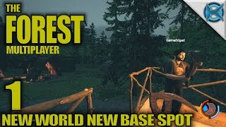 "The Forest -Ep. 1- ""New World New Base Spot"" -Multiplayer Let's Play Gameplay- Alpha 0.44 (S4)"