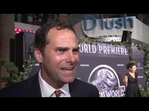 Jurassic World: Andy Buckley Exclusive Premiere Interview | ScreenSlam