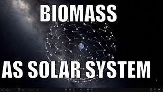 Biomass Solar System - Earth biomass visualized through Universe Sandbox 2