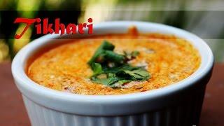 Tikhari - Spicy Garlicky Yogurt Dip By Crazy4veggie.com
