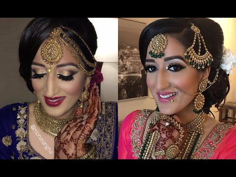Cali Vlog | Indian Bridal Makeup | keepingupwithmona