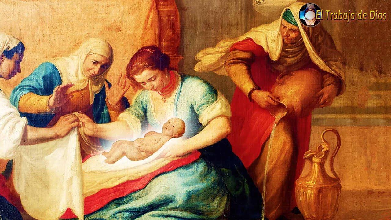 Nacimiento de la Santísima Virgen María 🔷 Revelación a Sor María de Agreda 🙏 Fiesta de la Natividad