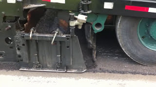 Amazing Road building machine | Without waste asphalt paver