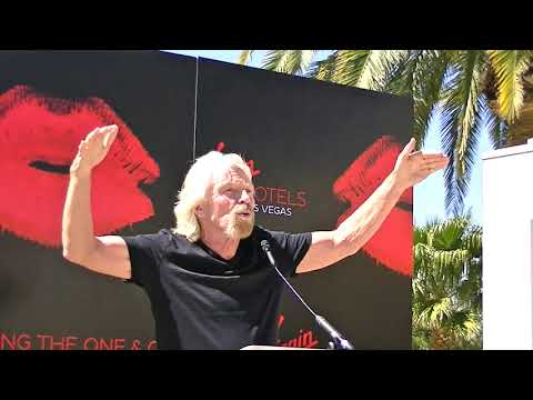 Richard Branson Las Vegas Virgin Hotels Taking Over the Hard Rock Hotel