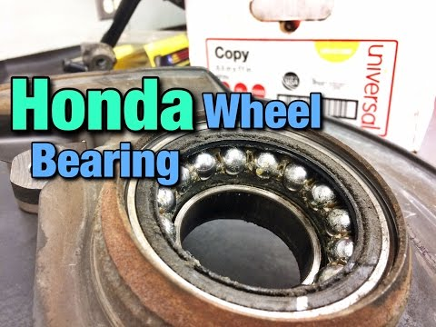 How To Replace A Honda Wheel Bearing