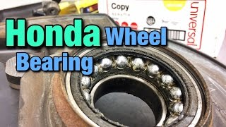 How To Replace A Honda Wheel Bearing