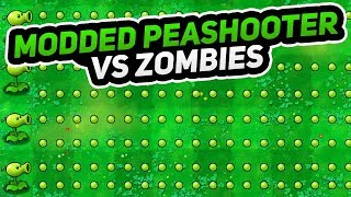 Super Fast Pea Shooter vs Zombies   Plants vs. Zombies Modded!