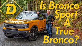 Is The 2021 Ford Bronco Sport A True Bronco? Let's Go Off-Road!