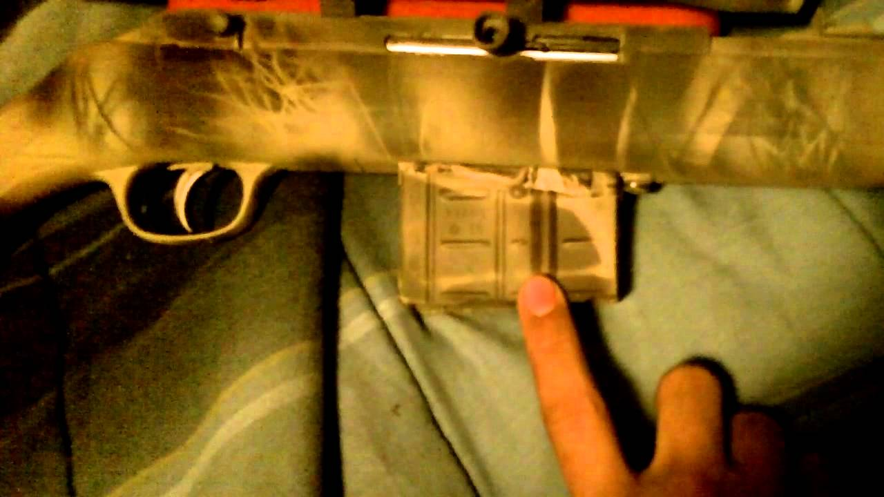 savage model 64 (all tact'd out)