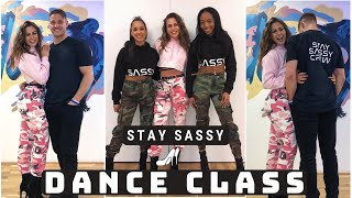 LEARN TO DANCE WITH ME | Stay Sassy Event BTS