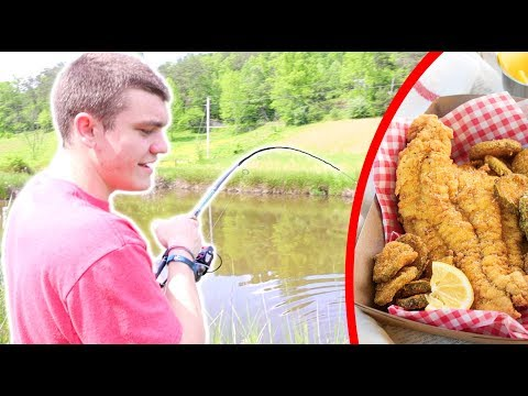 Catfish CATCH CLEAN COOK!!! (Step by Step)