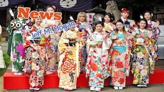 ダンス&ボーカルグループ・E-girlsが5日、東京・中目黒八幡神...