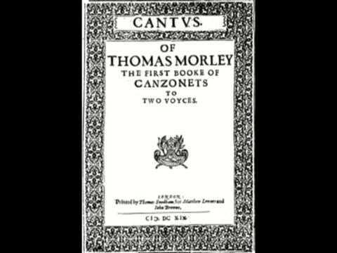 Thomas Morley - La Rondinella, on recorder