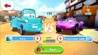 Cars: Fast as Lighting - Tokyo Mater VS Holley Shiftwell