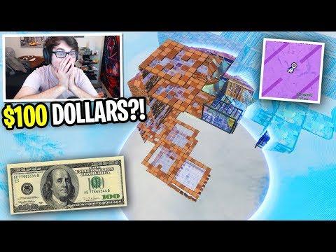 I got 100 FANS to SCRIM for MONEY on Fortnite! (winner gets $100 in Fortnite Customs!)