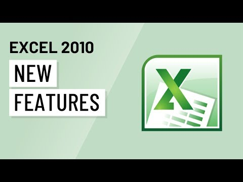 Excel 2010: New Features