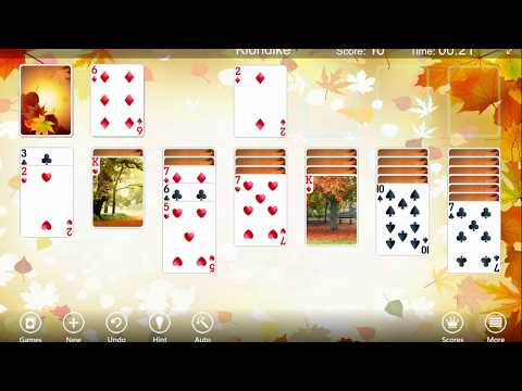 123 Free Solitaire - Fall Into The Autumn Atmosphere!