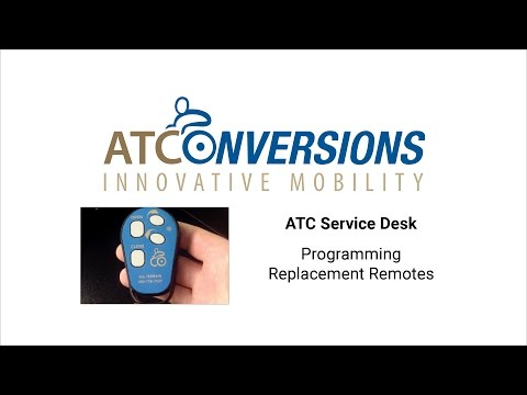 Program Replaceable ATC Remotes