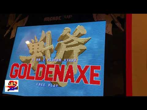 Arcade1up Golden Axe Revenge of Death Adder review with end credits from Rob Kelsall