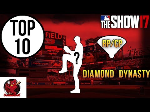 MLB The Show 17 | Top 10 Closers/Relievers plus top 10 Leftys