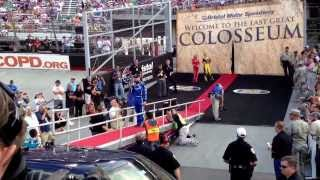 Bristol NASCAR driver introductions (songs).