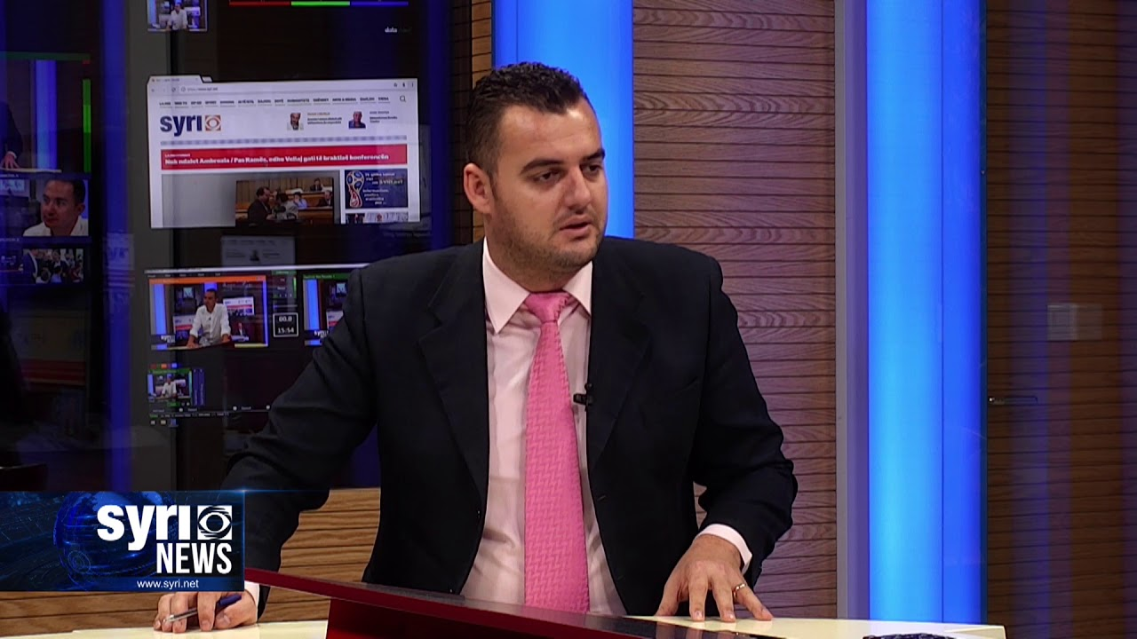 Intervista ne Syri Net i ftuar ne studio Ervin Salianji